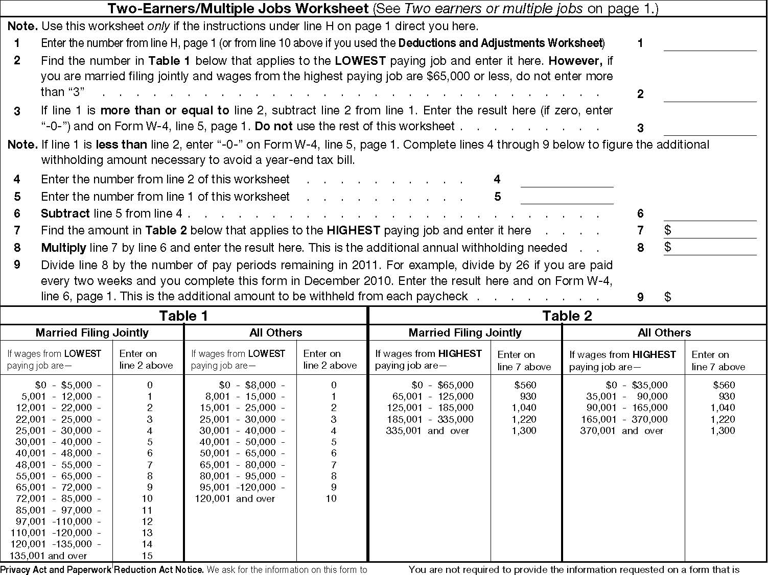 Worksheets Personal Allowance Worksheet pr 3 img 6 jpg employees withholding allowance certificate